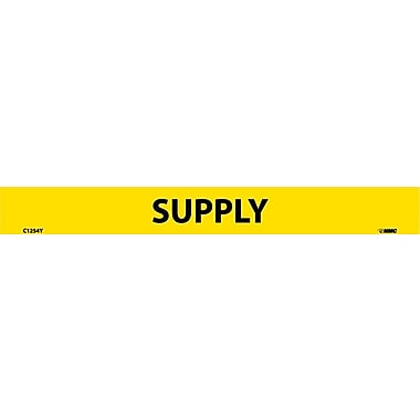 Pipemarker, Adhesive Vinyl, Supply, 1X9 1/2