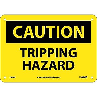 Caution, Tripping Hazard, 7