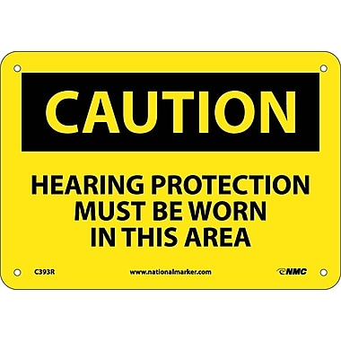 Caution, Hearing Protection Must Be Worn In This Area., 7