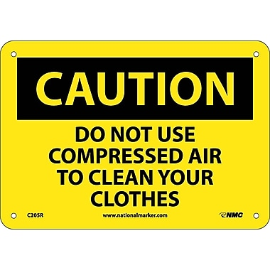 Caution, Do Not Use Compressed Air To Clean Your..., 7