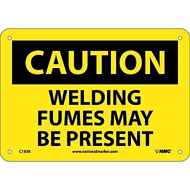 Caution, Welding Fumes May Be Present, 7