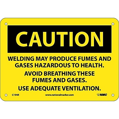Caution, Welding May Produce Fumes And Gases..., 7
