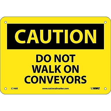 Caution, Do Not Walk On Conveyors, 7