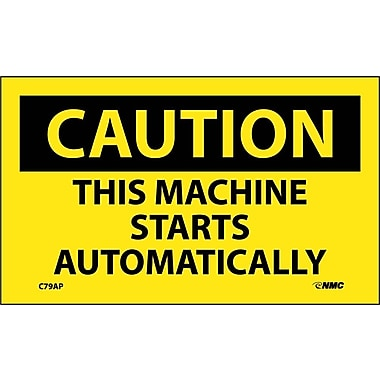 Caution, This Machine Starts Automatically, 3