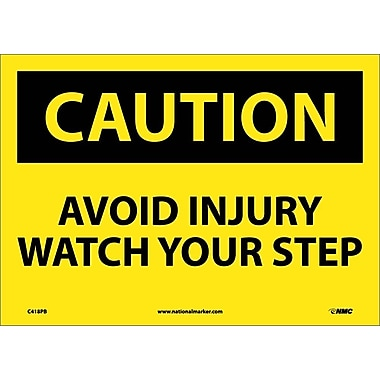 Caution, Avoid Injury Watch Your Step, 10