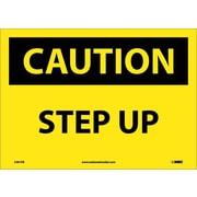 Caution, Step Up, 10X14, Adhesive Vinyl