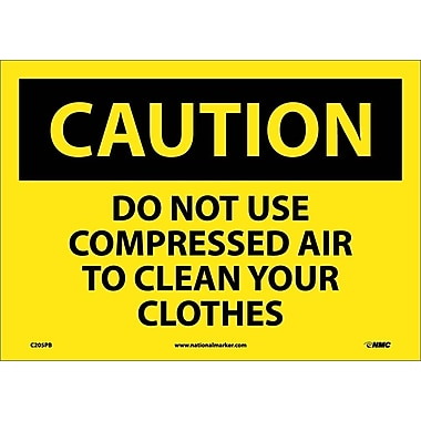 Caution, Do Not Use Compressed Air To Clean Your..., 10