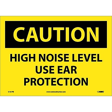 Caution, High Noise Level Use Ear Protection, 10