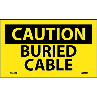 Caution, Buried Cable, 3