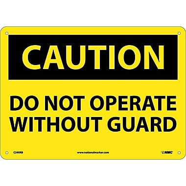 Caution, Do Not Operate Without Guard, 10