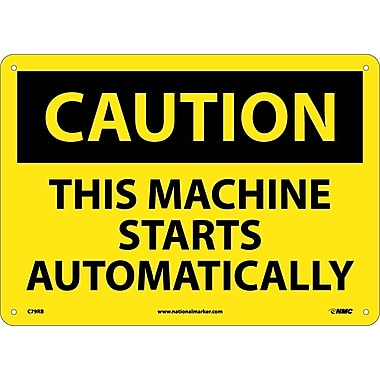 Caution, This Machine Starts Automatically, 10