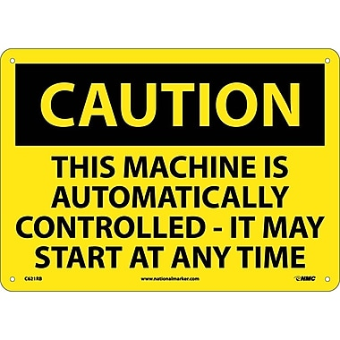 Caution, This Machine Is Automatically Controlled It Mat Start At Any Time, 10
