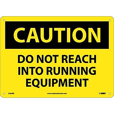 Caution, Do Not Reach Into Running Equipment, 10