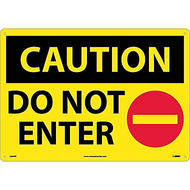 Caution, Do Not Enter, Graphic, 14