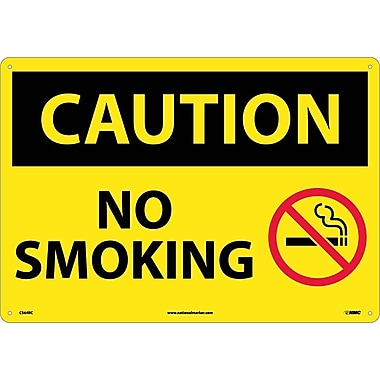 Caution, No Smoking, Graphic, 14