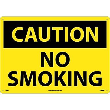 Caution No Smoking, 14
