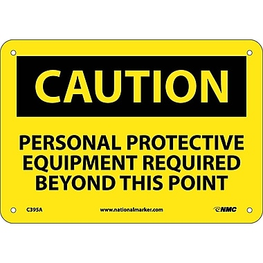 Caution, Personal Protective Equipment Required Beyond This Point, 7