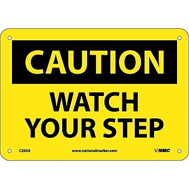 Caution, Watch Your Step, 7