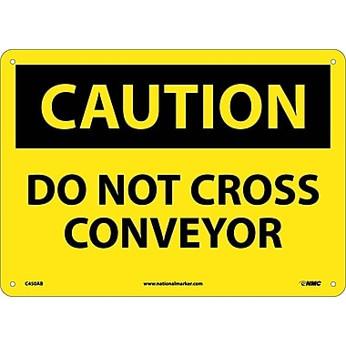 Caution, Do Not Cross Conveyor, 10