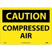 Caution, Compressed Air, 10X14, .040 Aluminum