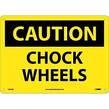 Caution, Chock Wheels, 10