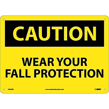 Caution, Wear Your Fall Protection, 10