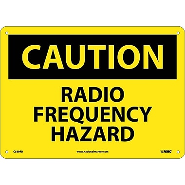 Caution, Radio Frequency Hazard, 10