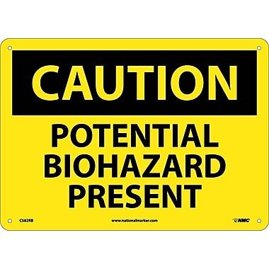 Caution, Potential Biohazard Present, 10