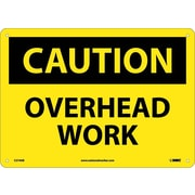 Caution, Overhead Work, 10X14, .040 Aluminum