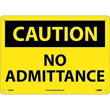 Caution, No Admittance, 10