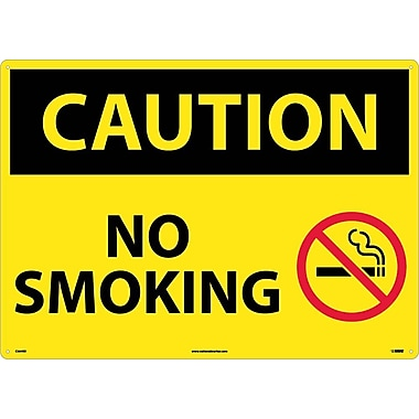 Caution, No Smoking, Graphic, 20