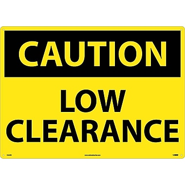 Caution, Low Clearance, 20