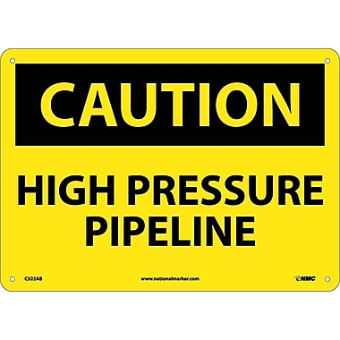 Caution, High Pressure Pipeline, 10