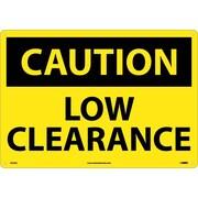 Caution, Low Clearance, 14X20, .040 Aluminum