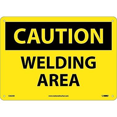 Caution, Welding Area, 10