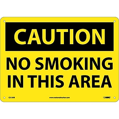 Caution, No Smoking In This Area, 10