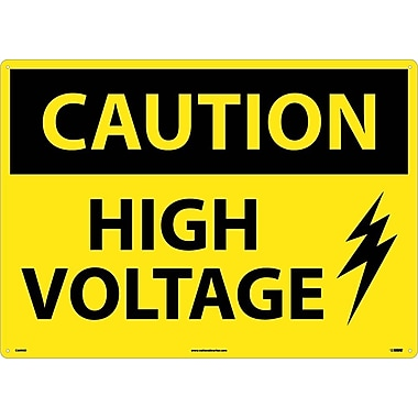 Caution, High Voltage, Graphic, 20