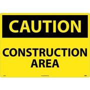 Caution, Construction Area, 20X28, .040 Aluminum