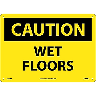 Caution, Wet Floors, 10