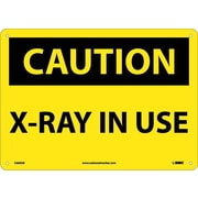 Caution, X-Ray In Use, 10X14, .040 Aluminum