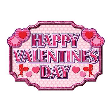 Happy Valentine's Day Sign, 12