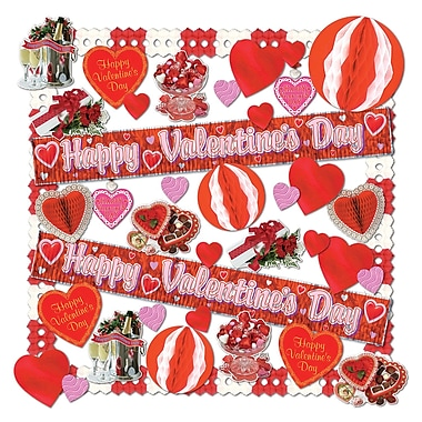 Beistle 40-Piece Valentine Decorating Kit