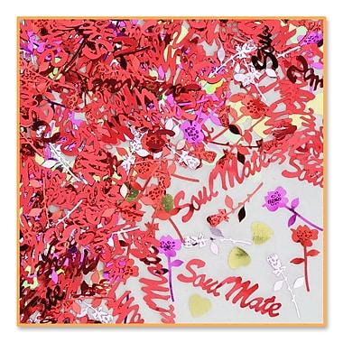 Beistle Soul Mate Confetti, Multicolor, 5/Pack