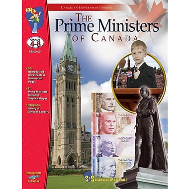 Prime Ministers of Canada, Grades 4-8