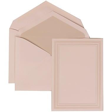 JAM Paper® Wedding Envelope Ivory Triple Border Set