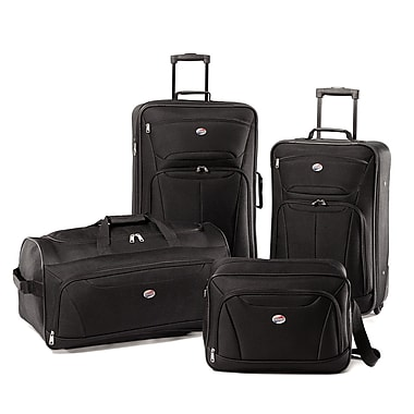 American Tourister® Fieldbrook II 56444 4-Piece Luggage Set, Black