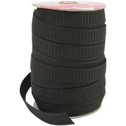 "Singer® Non-Roll Flat Elastic, 1"" Wide x 50 Yards, Black"
