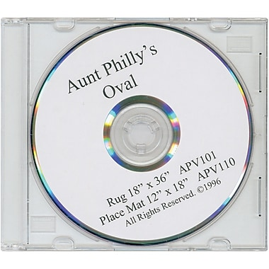 Aunt Philly's DVD, Oval Rug