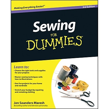 Sewing For Dummies 3rd Edition