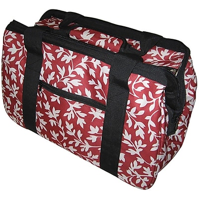 JanetBasket Red Floral Eco Bag, 18